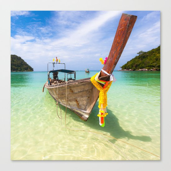 Thai Boat Canvas Print