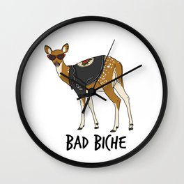 Bad Biche Wall Clock
