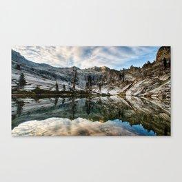 Sunrise Over Pear Lake Canvas Print