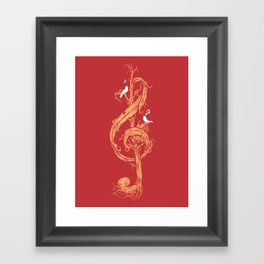 Natural Melody Framed Art Print