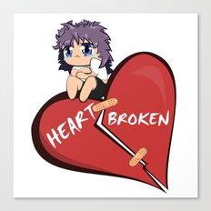 Heart Broken Canvas Print