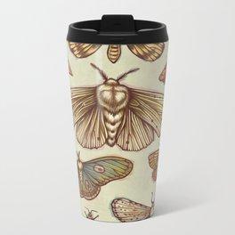 Moths Metal Travel Mug