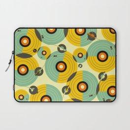 Turntables (Yellow) Laptop Sleeve