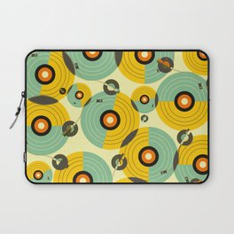 Turntables (Yellow) Laptop Sleeve