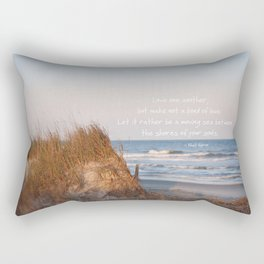 Love one another... Rectangular Pillow