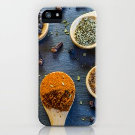 Herb and Spices. iPhone Case