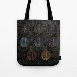 Medieval Shields Tote Bag