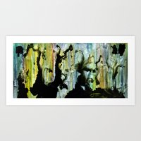 Fluid Ink - Abstract Art Print