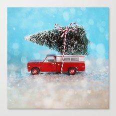 Chevy Christmas Canvas Print