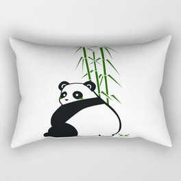 Big Butt Panda Rectangular Pillow