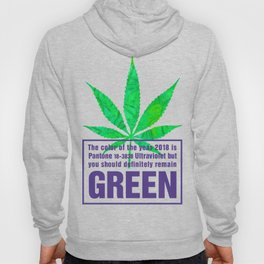 Green and Ultra Violet Hoody