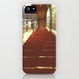escalones iPhone Case