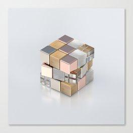 Rubiks Cubed Canvas Print
