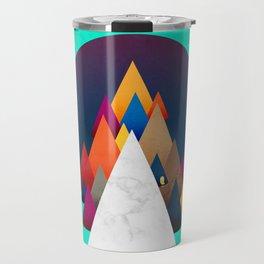 066 - Owly climbing the coloured holy mountain Travel Mug