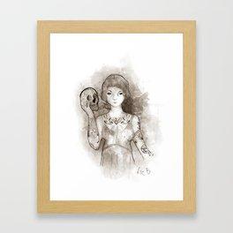 Mi propia alma Framed Art Print
