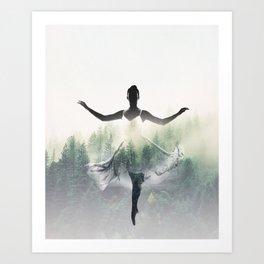 Forest Dancer Art Print