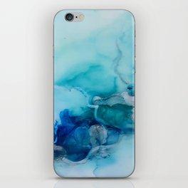 blues in summer iPhone Skin