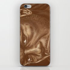 round 9..lenox lewis iPhone & iPod Skin