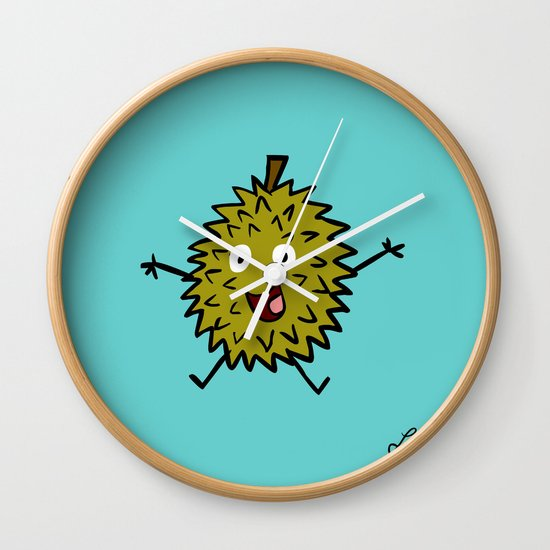 Durian Wall Clock
