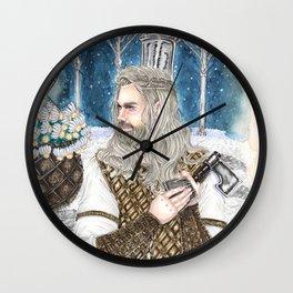 The god of light Wall Clock