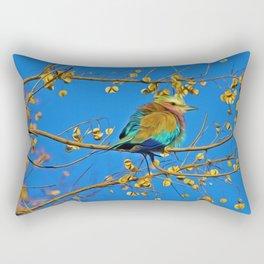 Songbird Singing in the Dead of Night Rectangular Pillow