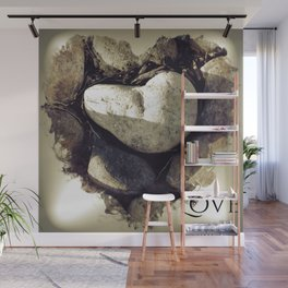 Our Love Is Carved in Stone Wall Mural