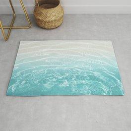 Soft Blue Gray Ocean Dream #1 #water #decor #art #society6 Rug