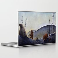bears Laptop & iPad Skins featuring Bears  by Kristin Rian