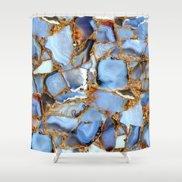 Coffee, Cream and Crystals Please Shower Curtain