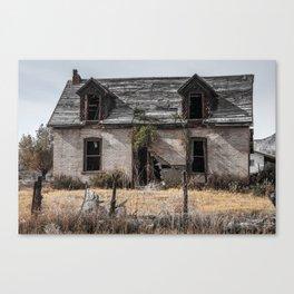Abandoned House in the Desert - Central Utah Canvas Print