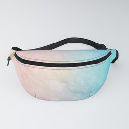 Fire and Ice - Watercolor Painting Fanny Pack