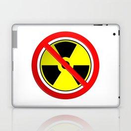No Nuclear Symbol Laptop & iPad Skin