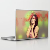 wonder Laptop & iPad Skins featuring Wonder by Alina Rubanenko