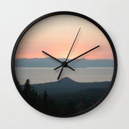 Lake View Wall Clock