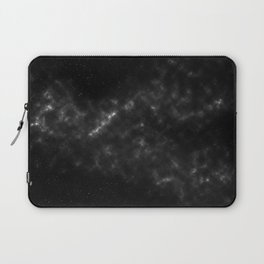 black & white space Laptop Sleeve