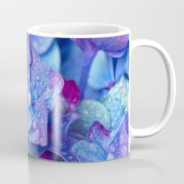 Hydrangea Flowers Close Up Coffee Mug