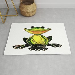 Jon Jade - The Cambodian Tree Frog Rug