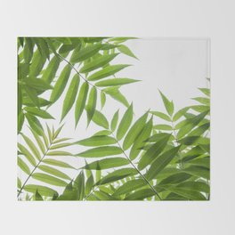 Embrace of a Rowan Tree Throw Blanket