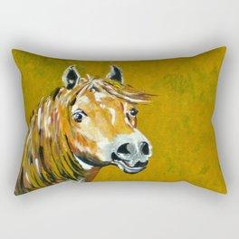 Peruvian Paso Horses Rectangular Pillow
