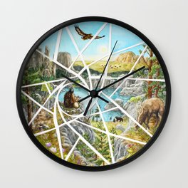 Paha Sapa Vision Quest Wall Clock