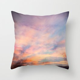 Air & Sky Throw Pillow