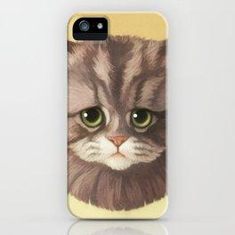 Round Cat - Poe iPhone Case