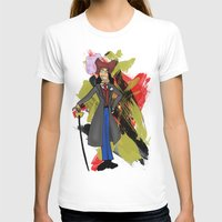 captain hook T-shirts featuring Disneyland Captain Hook - Evil Relations by Joey Noble