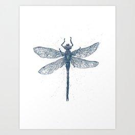 Dragonfly Art Print