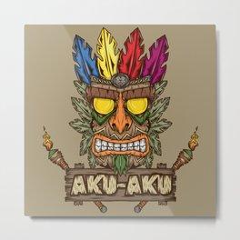 Aku-Aku (Crash Bandicoot) Metal Print