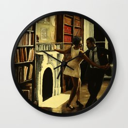 Lindy Hop in the Library Wall Clock
