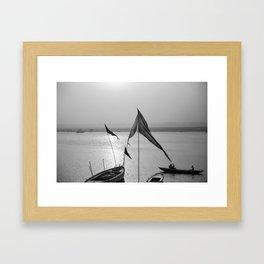 By the Ganges Framed Art Print