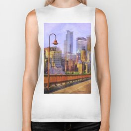 The city is calling my name today. Biker Tank