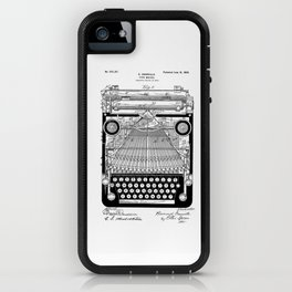 patent art Granville Type Writer 1900 iPhone Case