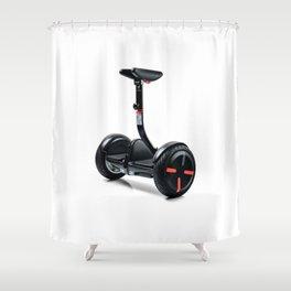 GLIDER IN BLACK | 2016 Shower Curtain